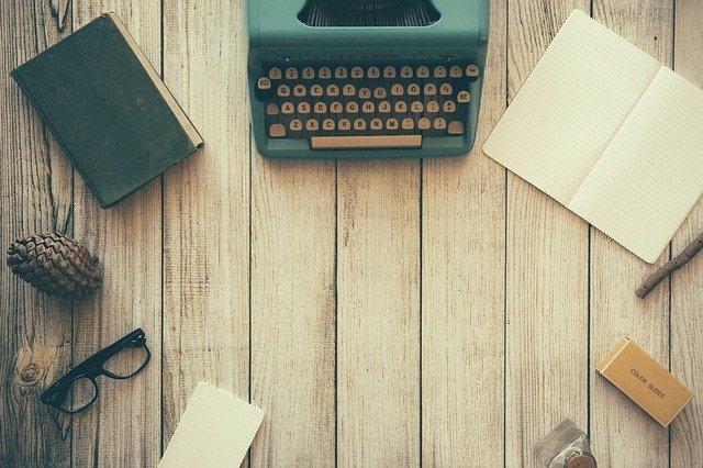 machine à écrire ajouter un article
